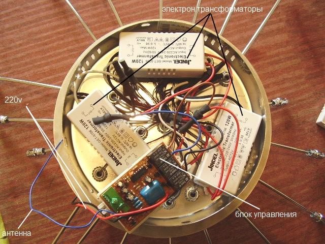 Ремонт люстры с пультом управления ремонт своими